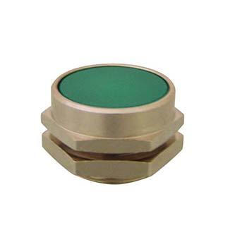 Clippard PC-4F-OR Flush Captivated Push Button 22 mm Green Shown Orange